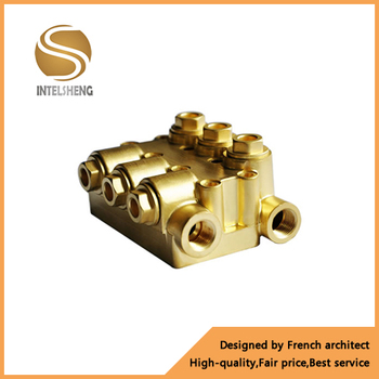 2-12 ways Brass/stainless steel hydraulic manifold (OEM)