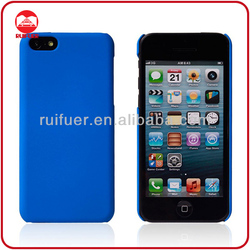 Wholesale Matte Rubberized Plastic Snap-on Shell Hard Rubber Coated Case for iphone 5C