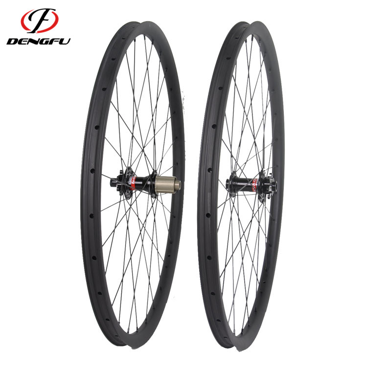 One year warranty carbon bicycle wheels 700c 40mm depth clincher wheels road carbon fiber