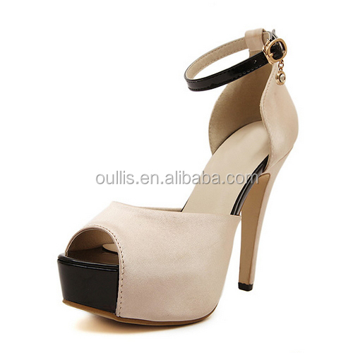 Mega March Sourcing Fashion party wear high heel shoes Wholesale cheap high heel shoes PQ3582