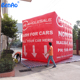 AO696 commercial helium balloon,inflatable zeppelin helium cube for advertising,Inflatables