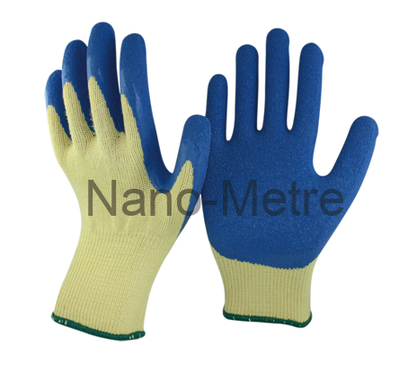NMSAFETY yellow liner stroller hand gloves