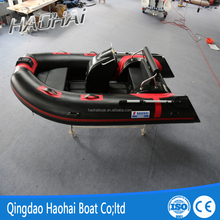 Factory 3.9m pvc material rib leisure boat with CE certificate