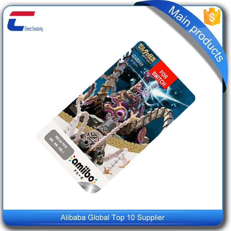 amiibo NTAG 215 smart game card factory