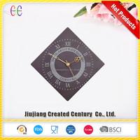 Wholesale 24 hour eastar talking natural slate wall clock