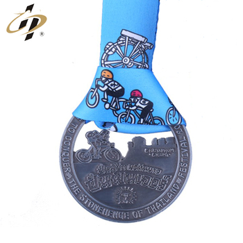 Hot selling cheap custom metal cycling medals no minimum order