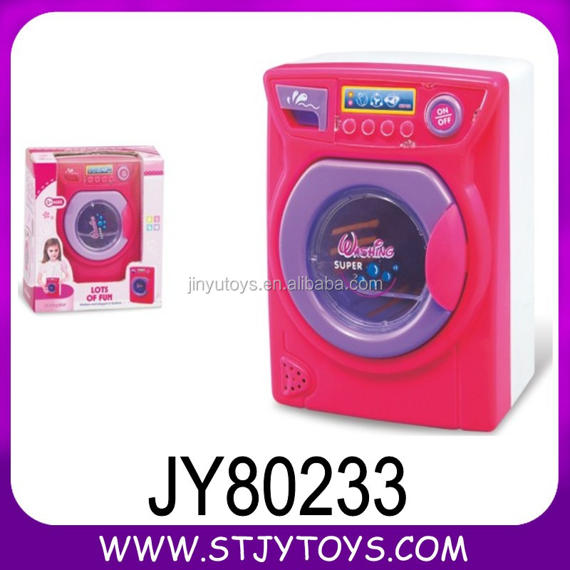 battery operated toy washing machine with music toy furniture