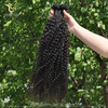 2015 Hot Top Quality Direct Factory Wholesale Price Tangle Shedding Free burgundy remy hair curly