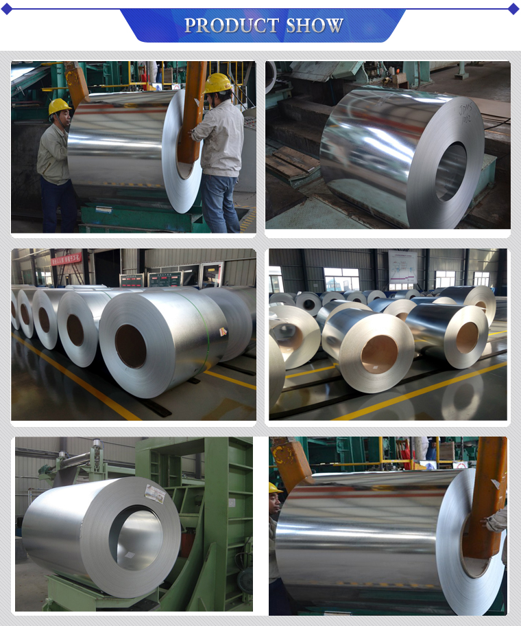 Thickness 0.12mm - 4mm Galvanized Steel Coil Commercial / Drawing Types