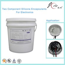 Good dielectric Two component silicone gel, Liquid RTV Silicone Sealant/Silicone Gel for Electrics Components--jorle