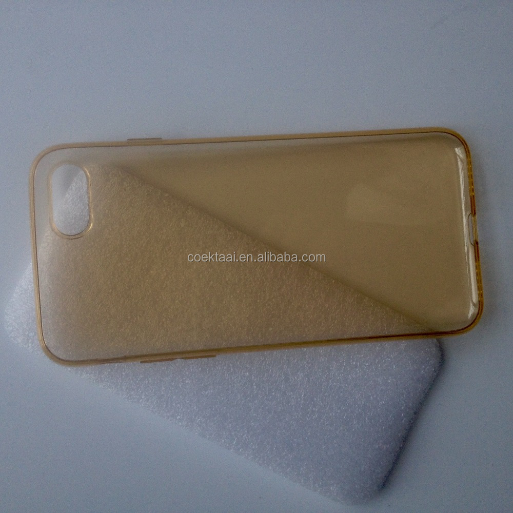 Transparent Plastic Case For i Phone 6 7 plus uv phone case