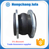 Pipe flexible expansion joint compensate assembling inaccuracies.