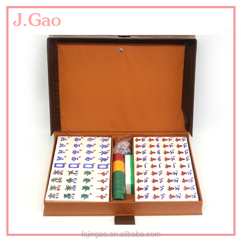Wholse Price Green AcrylicChinese Mahjong
