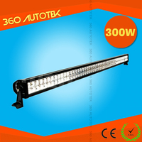 factory wholesale 50 inch dual row light led bar off road 300w