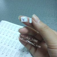 Minrui Wholesale Self Adhesive Warranty Void Stickers,Nice Price If Damaged Paper Warranty Void Labels