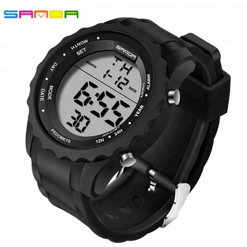 2017 New Men Digital Watch Top Brand LED Fashion Outdoor Waterproof Sport Watch Military Electronic Wrist watches Clock Men