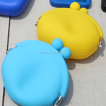New Silicone Purse/ Credit Card Holder for Woman shopping ,Coin Purse Mini Small Keychain Wallet Handbag Bag