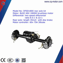 cq motor 3kW Wheel Hub Motor Electric Car Kits For Smart Car,electric vehicle brushless <strong>dc</strong> motor