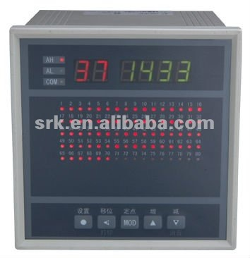 Multi-Channel Thermocouple Controller With Alarms