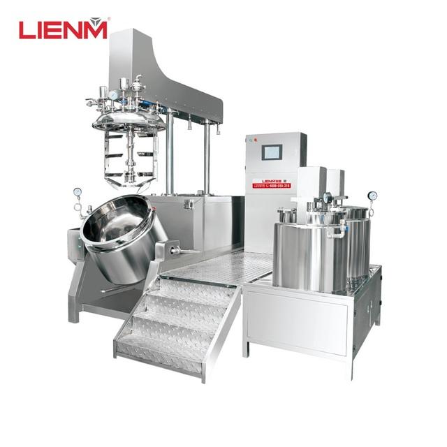 CE marking body cream mixing machine agitator mixer vacuum homogenizer