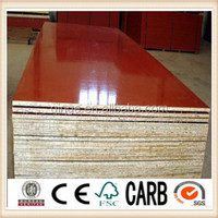 18mm Melamine WBP glue,red film combi core film faced plywood for construction