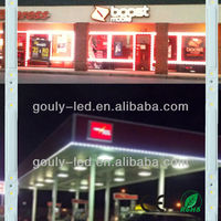 aluminum double hung window,aluminum arch windows led strip light for clothes