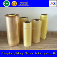 quality soft transparent food packaging plastic roll film