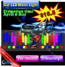 hot sell 12v music control strobe light led sound activated equalize for boat jeep truck