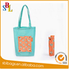 2016 Fashion foldable casual Macaroon color shopping bag double strap shoulder bag