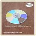 eight segments optic fiber light source twinkle color wheel