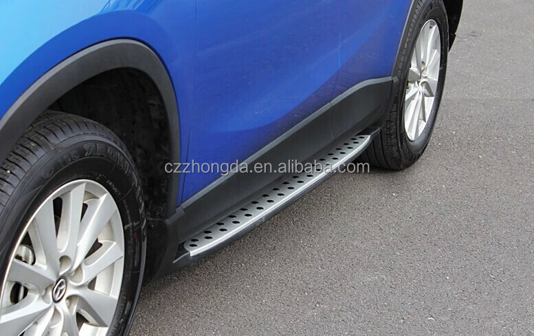 2012+ CX-5 side step /running board,foot plate auto tuning parts for CX5 car