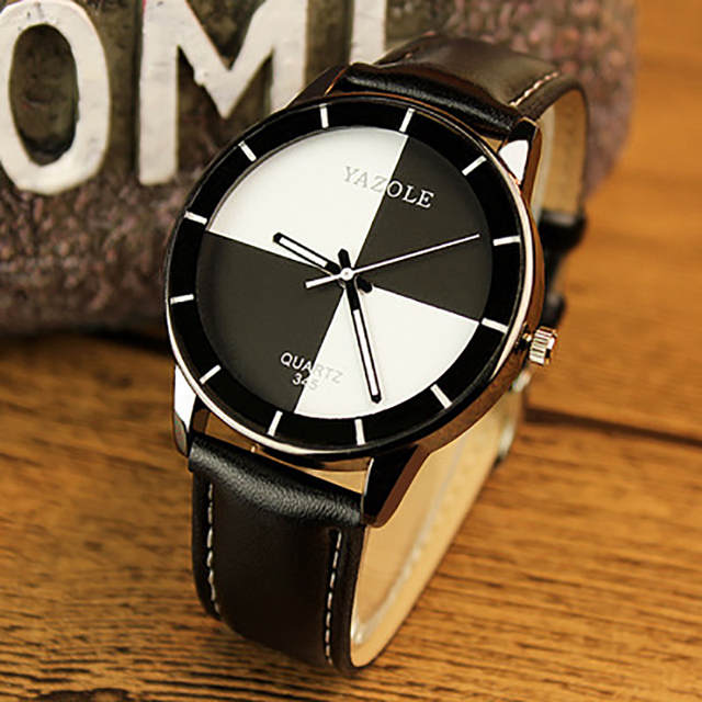 2016 YAZOLE Brand Luxury Women Wristwatches Casual fashion  Ladies' Leather Quartz Watch Montre Femme Mujer Relogio Feminino