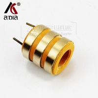 customise optical slip ring inner diameter 20mm/outer diameter 39mm/height 40mm 3 circuits copper rings