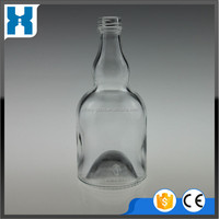 DECORATIVE 750ML GLASS EMPTY CHAMPAGNE BOTTLE