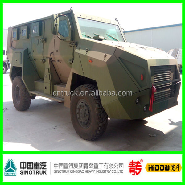 Qingdao sinotruk military armoured troop carriers fighting vehicle peacekeeper