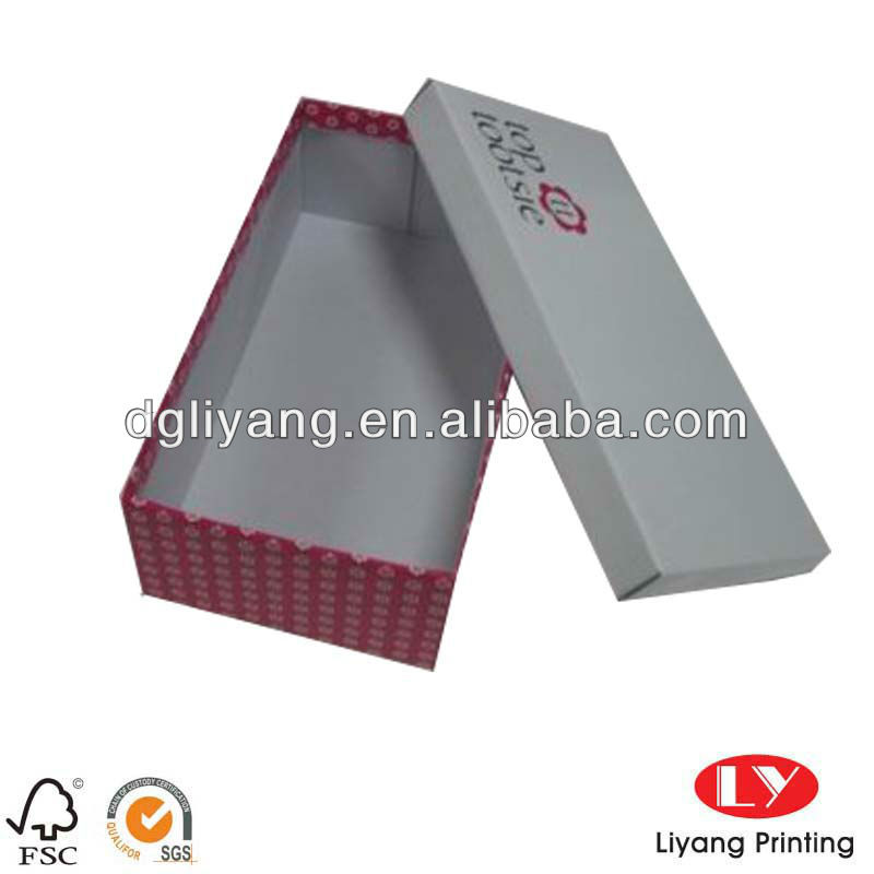 Mini cardboard clear Shoe Box for female wholesale