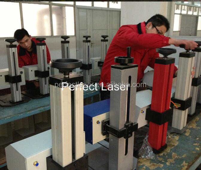 rotary bicycles fasteners dot peen marking machine