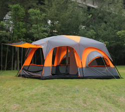 Hot sale camping tent 6-12 person large luxury camping large tent