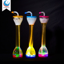 700ml Flashing light drinking beer party slush led plastic yard cup