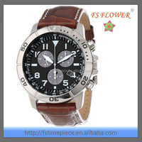 FS FLOWER - Multifunction Alarm Dual Time Zone Men's Sport Watch