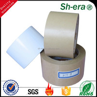Hot melt self adhesive kraft paper tape with alibaba golden supplier