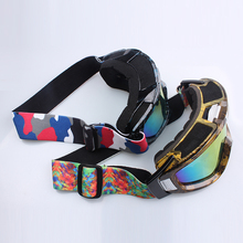 Custom reliable and durable elastic snowboard ski goggles straps band in china manufactory