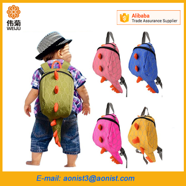 New Design Dinosaurs Animal Child School Bag