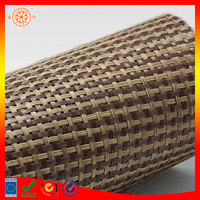 swing chair rattan material by roll pvc rattan material mesh rattan material for beach chair use