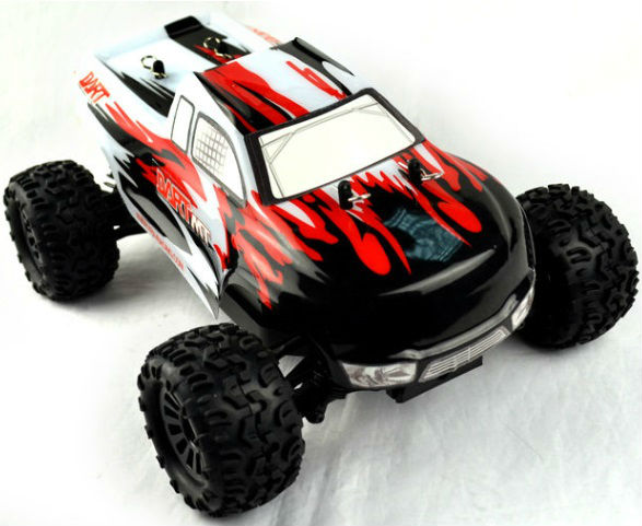 Hot Sale 1/18 Scale Electric 4x4wd Off Road Mini DART-MT Monster RC Truck