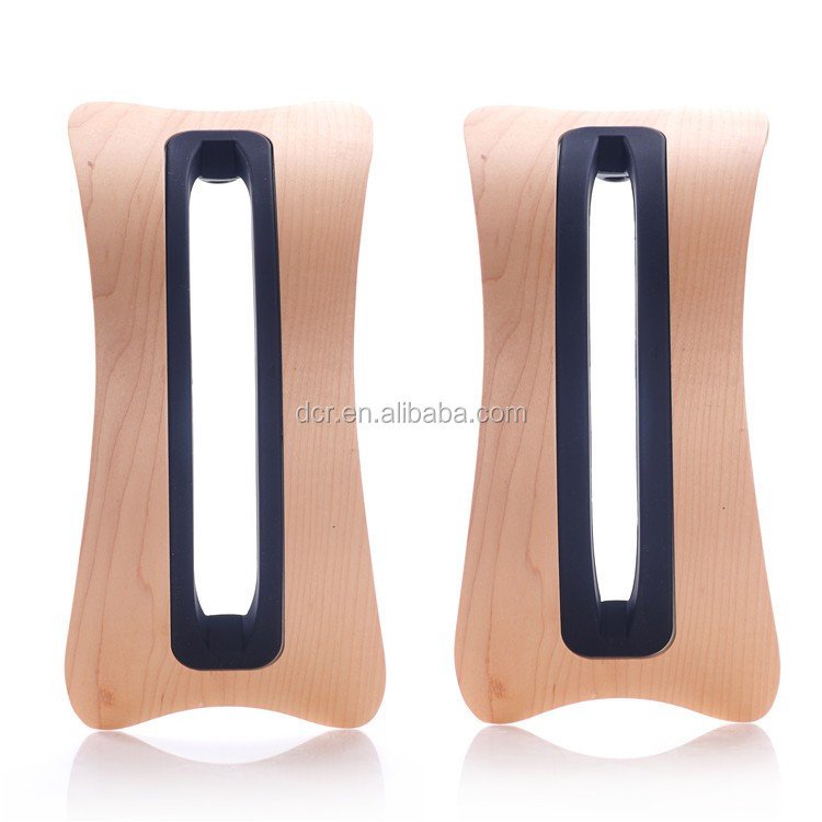 2015 Hot sale Wood Bamboo Hard Panel Stand Holder for PC, pad,eReaders, Books, Artwork and more