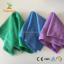 3 Packs (Green Purple Blue) Auto care Microfiber Cleaning cloth/Towel for Car