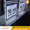 Eco-Friendly Advertising Slim Crystal LED Picture Frame Light Box Acrylic LED Backlit Advertising Light Frame