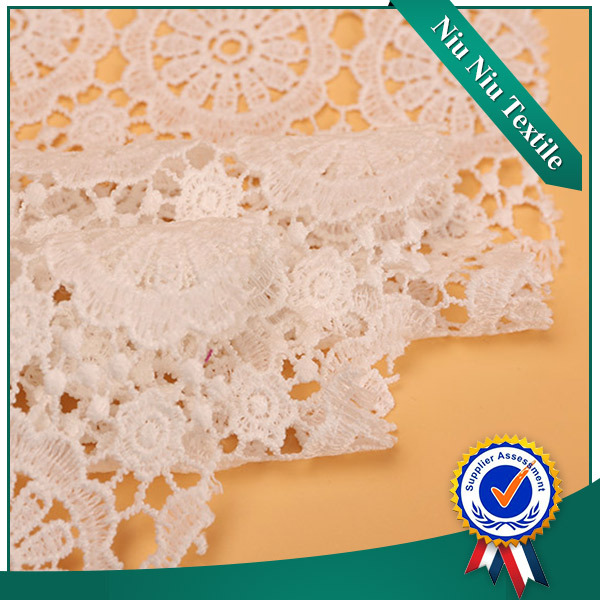China suppliers High quality Elegant Mesh korean lace fabric