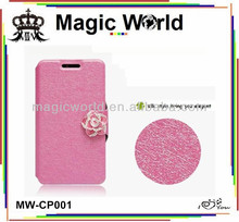 PU Leather Case Cover Flip For Various Samsung Galaxy S4 Mobile Phone